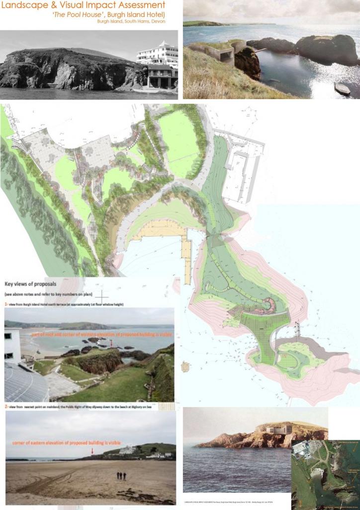 case study - burgh island pool house