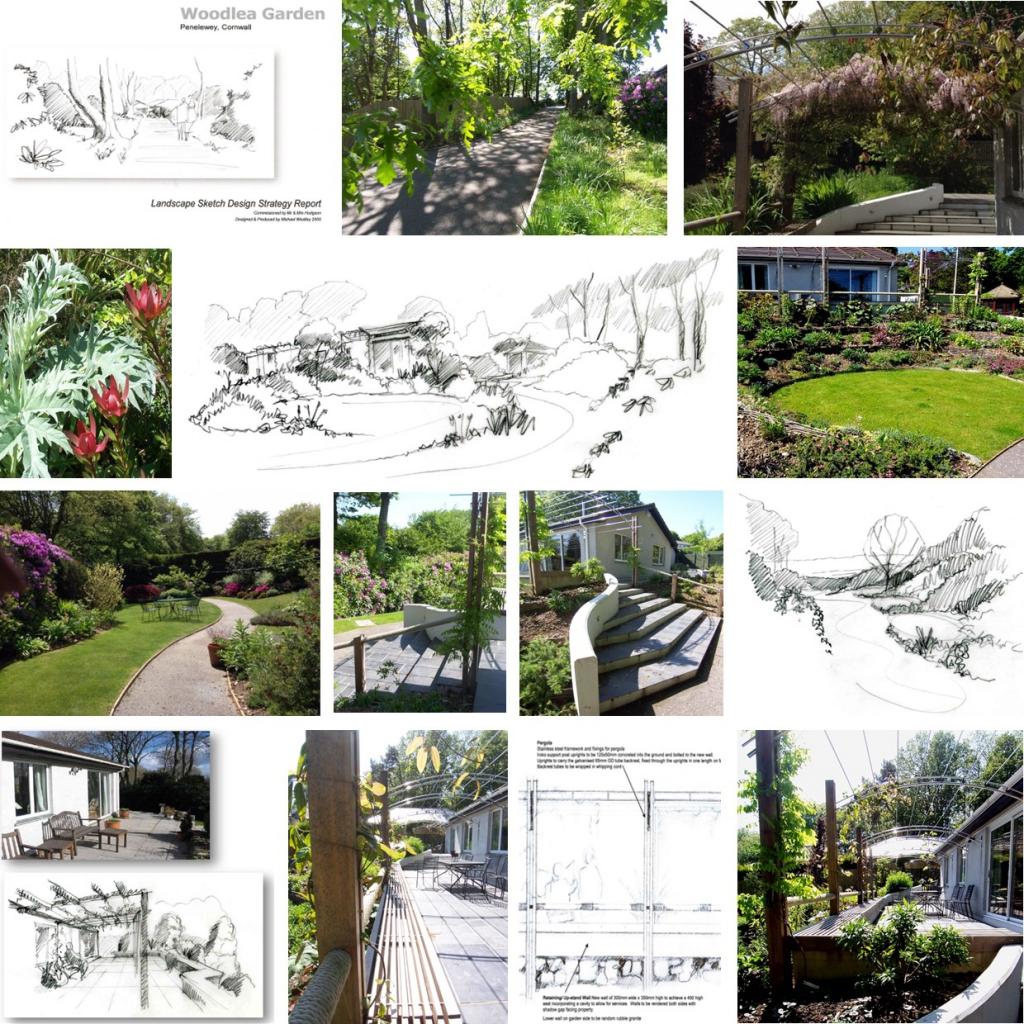 case study - woodlea garden feock