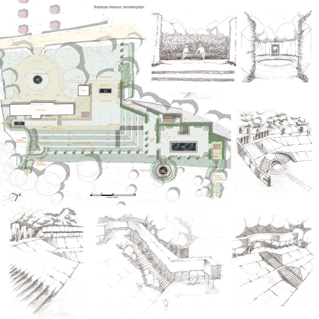 case study - trebrae manor tintagel
