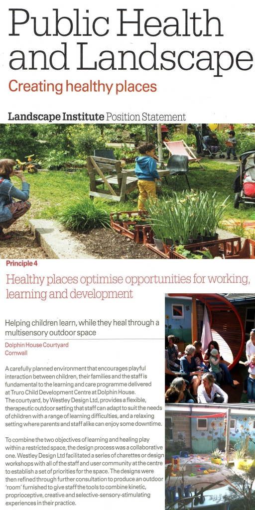 case study - public health & landscape creating healthy places